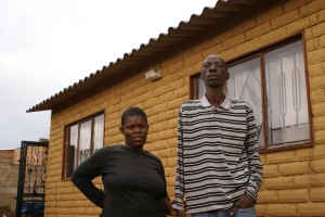 Victor Zuma and Beverly Msibi of Cosmo City lost their house over R6,000 arrears