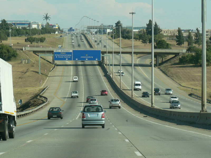 Joburg highways